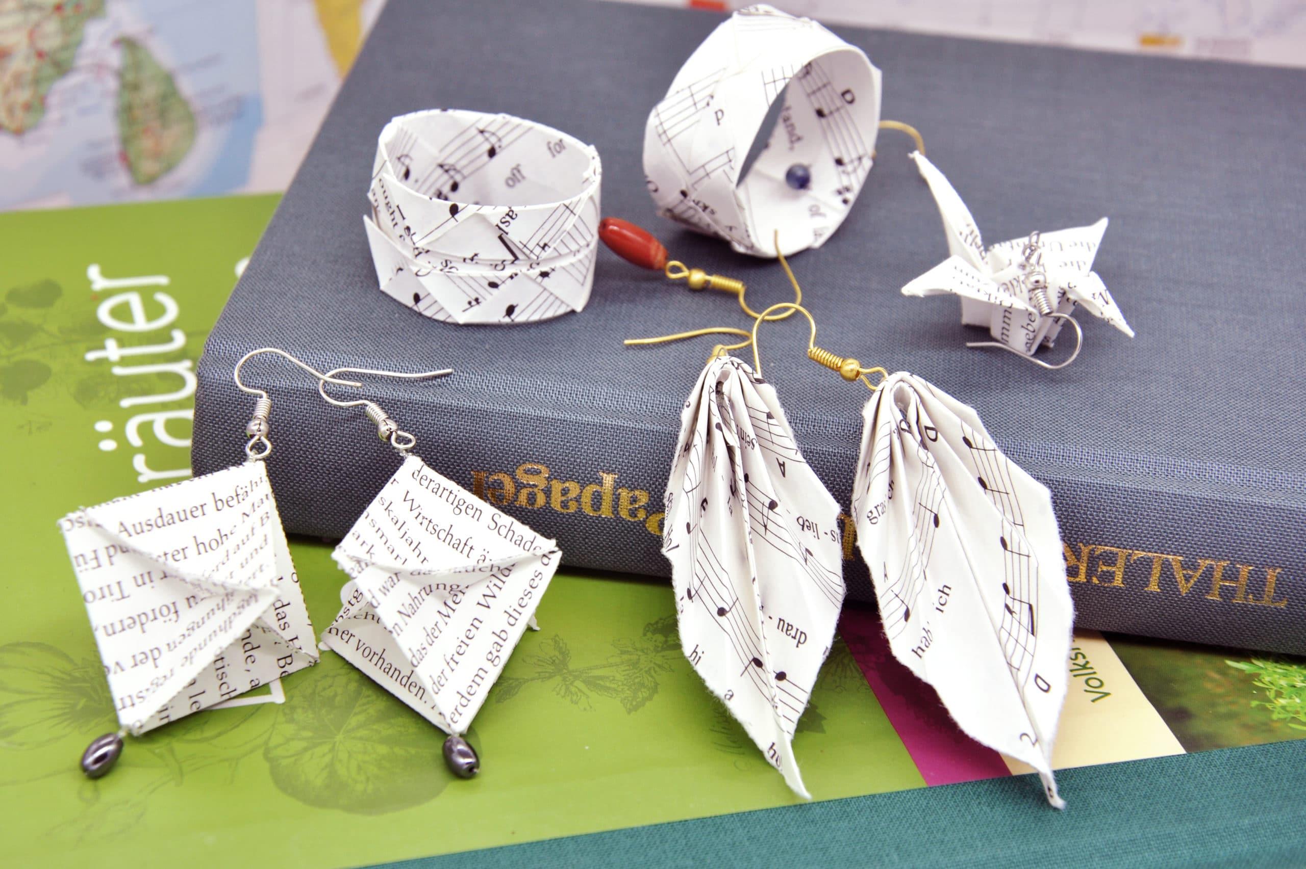 Origami Ohrringe